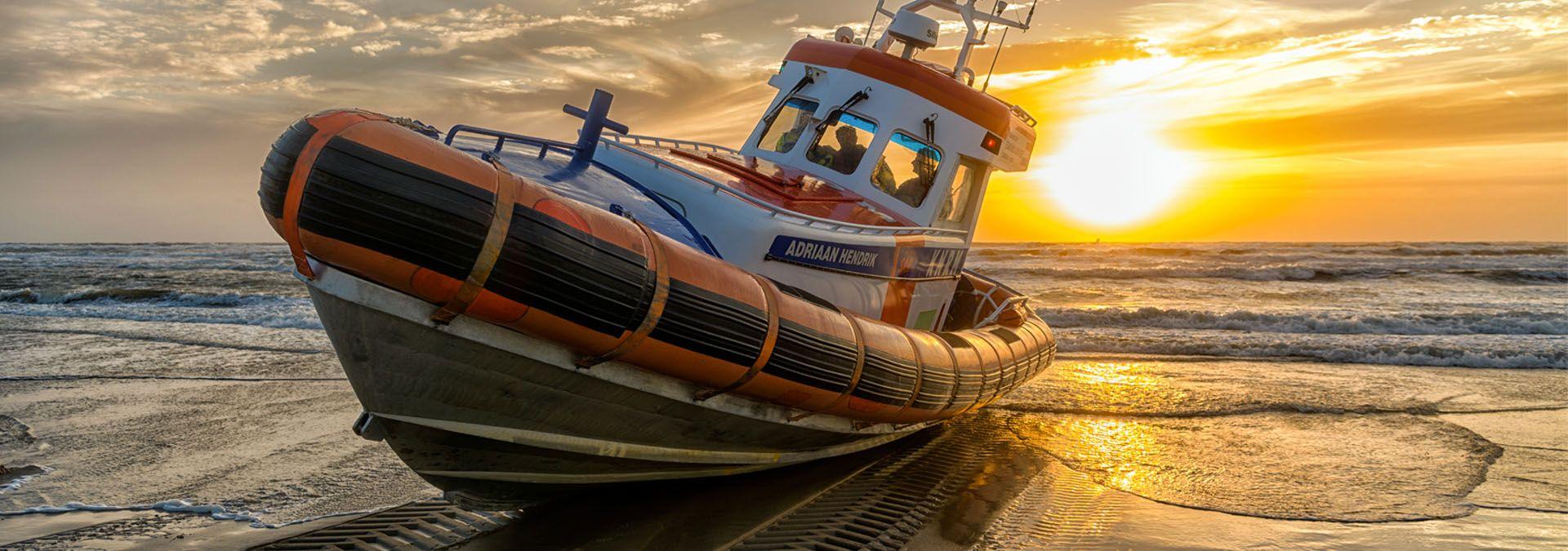 KNRM-hitteplan tips voor op het water